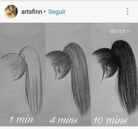 Haar Und Frisur Zeichnen Von Frisuren Fur Ihre Charaktere Bleistiftzeichnung Haar Tutorial Haartutorial Frisuren Zeichnen Haar Tutorial