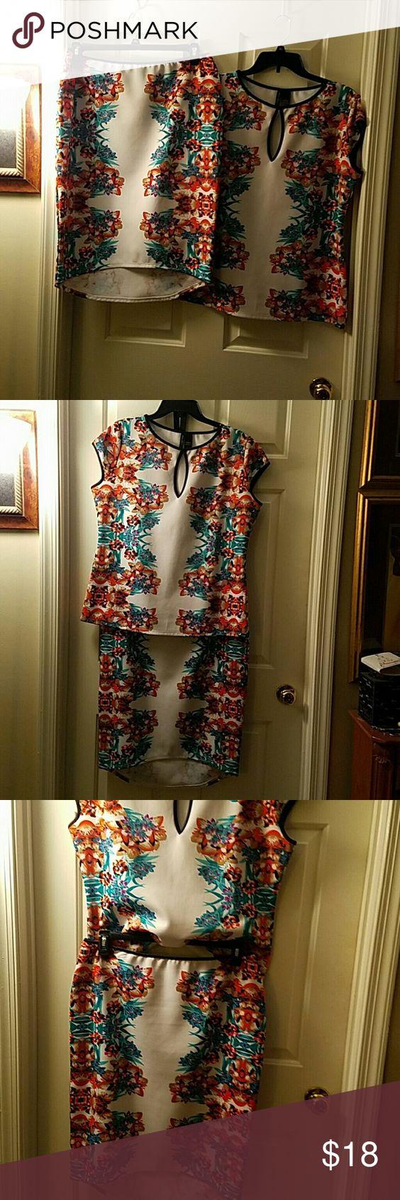 Skirt Set Multi-color skirt set Bisou Bisou Skirts Skirt Sets