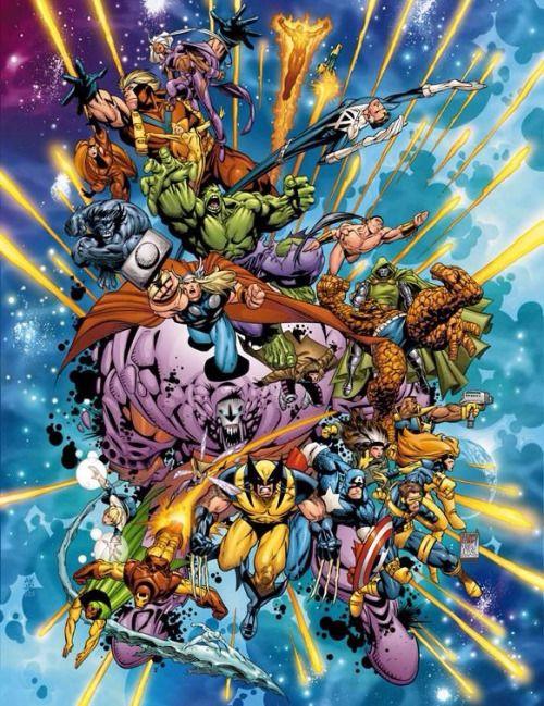 Galeria de Arte (6): Marvel, DC Comics, etc. - Página 33 0dcf85282b2f85ffa686ebd4a3f54a8f