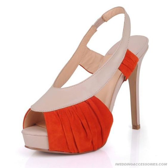 2012 Leather Peep Toe Sandals