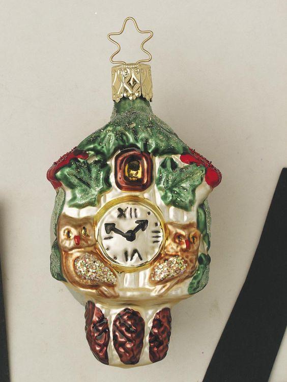 Inge Glas 2002#Christbaumschmuck#aus dem Hause Inge Glas.Weihnachtsbaumschmuck made in Germany mundgeblasen und von Hand bemalt bei www.gartenschaetz..