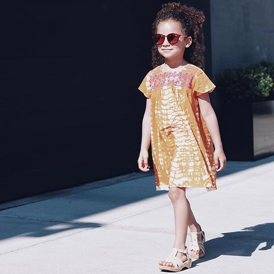 Kid summer fashionista