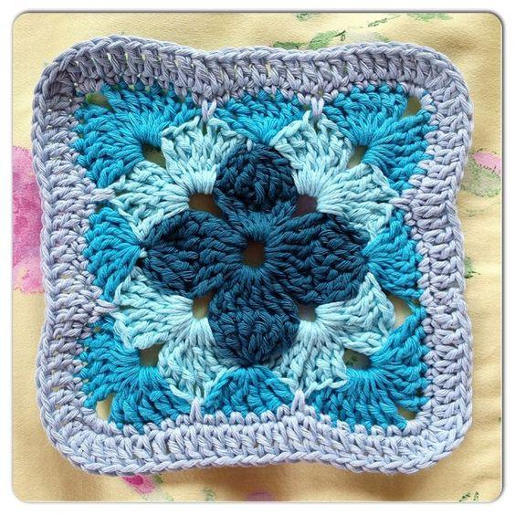 Granny square | Crochet Granny Squares | Pinterest | Combinaciones ...