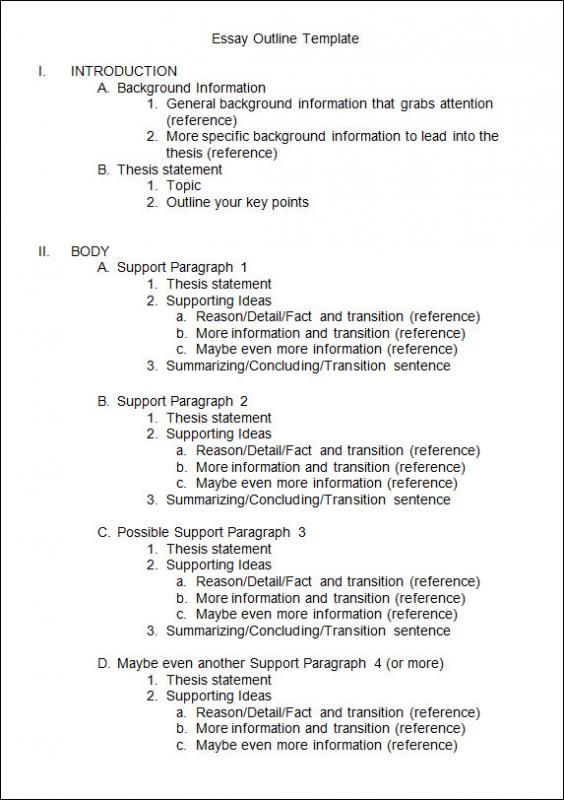Essay Outline Template Writing Skills English Research Paper Pdf For Springer Download Phrasebook And In