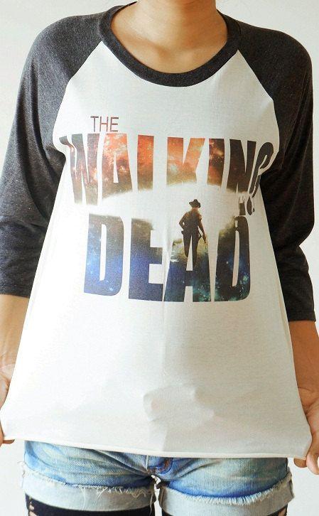 t shirt nike just do it walking dead