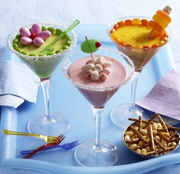 Mini Cupcake Cocktails