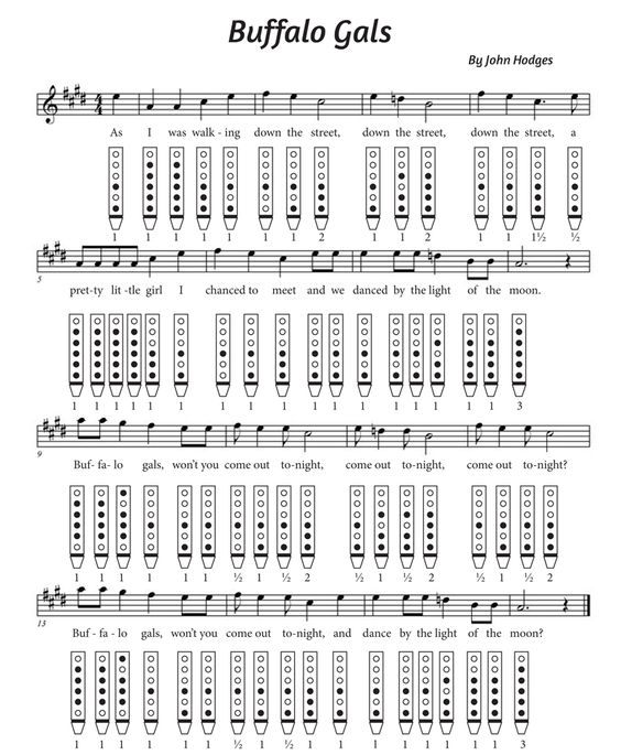 Grenade Flute Sheet Music With Lyrics: Tablature Download ~ March, 2015