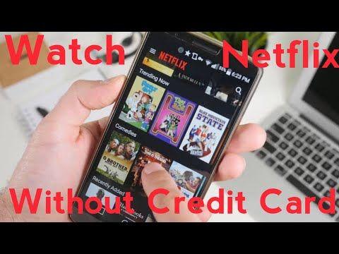 Watch Netflix without add your card details | sjtalks