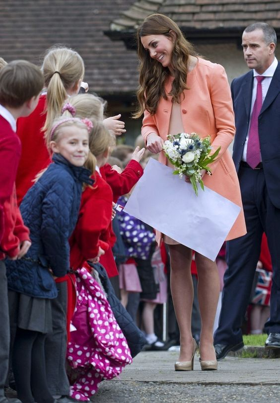 Kate Middleton - Kate Middleton Visits a Children's Hospice  What a great mum she will be!