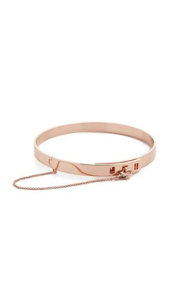 Eddie Borgo Small Safety Chain Choker Necklace   SHOPBOP - ugh so gorgeous, why is it $350??