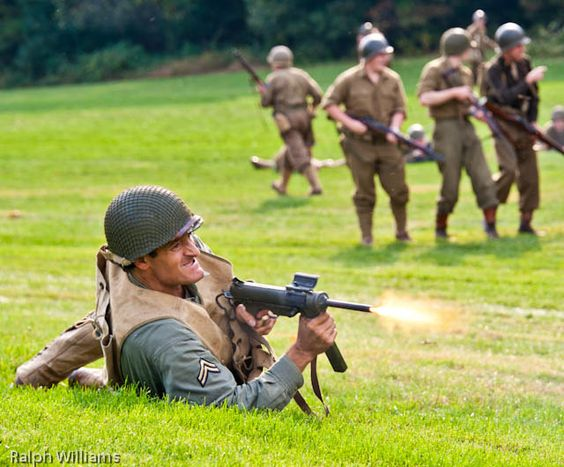 Collings, WWII Reenactment