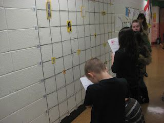 coordinate grid activity for maps unit or for math!  I could use my pegboard and colored tape!