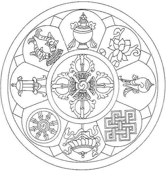 Quot Ce Mandala Tib 233 Tain Est Appel 233 Mandala Du Bonheur Vous