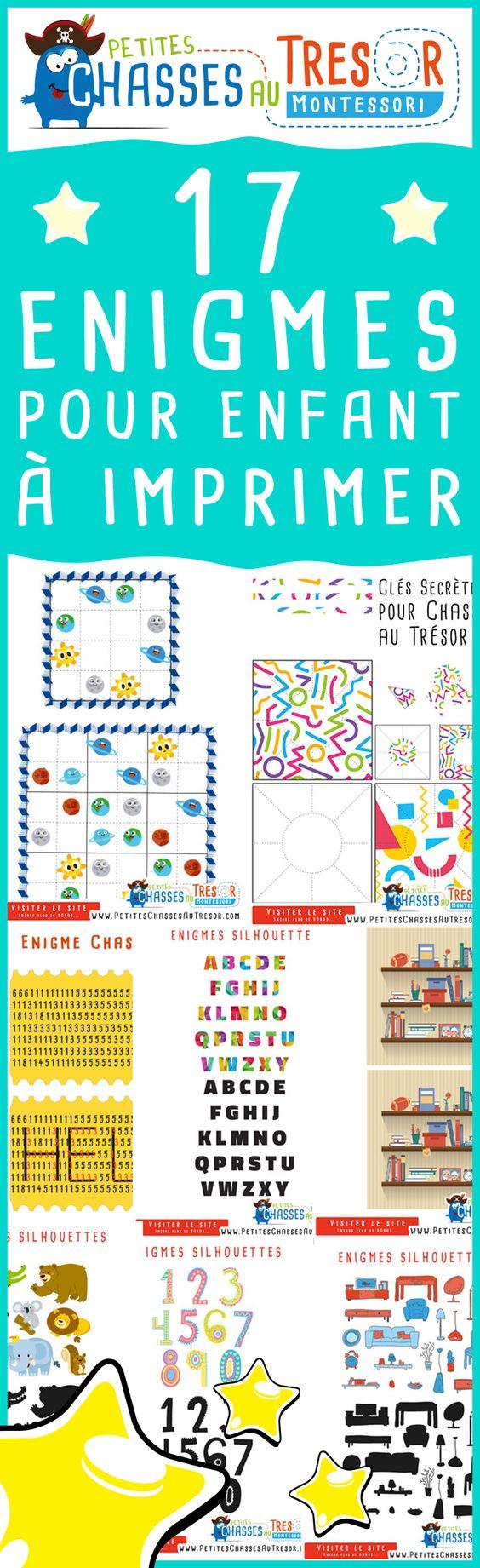 enigmes pour enfants imprimer des activit s de reflexion pour les enfant de 5 ans 14 ans. Black Bedroom Furniture Sets. Home Design Ideas