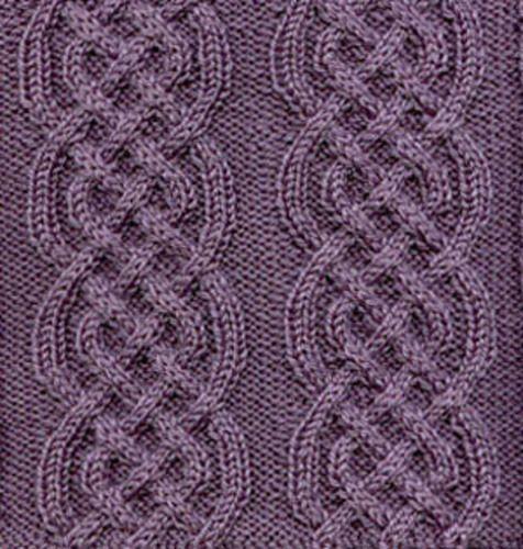 Free pattern: Celtic Braid Afghan Square by Sarah Bradberry Aran crochet &a...