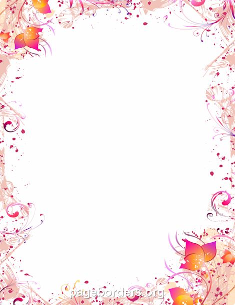 Stationery Paper – Printable Bordered Paper Designs Free