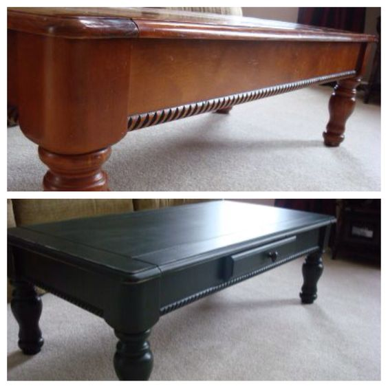 goodwill coffee table transformation #diy | -furniture- before and