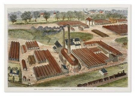The Upper Hawthorn Brick Company's Yards (Fritsch, Holzer and Co.) - Acquisitions 080 Prints