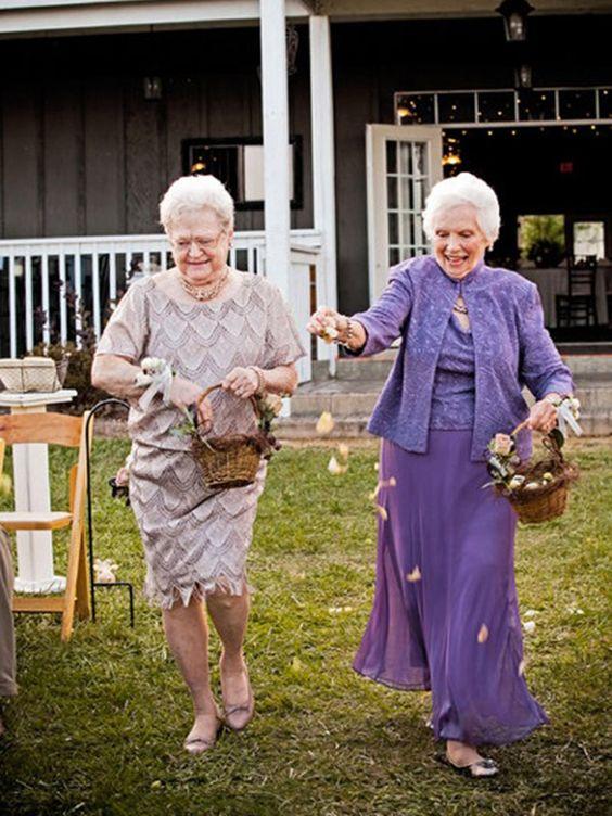 Como incluir as avós no casamento