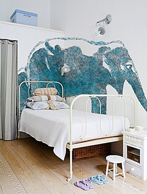 "Haha, gives a whole new meaning to ""The Elephant in the room!""  WHAT! I want an elephant on my wall!"