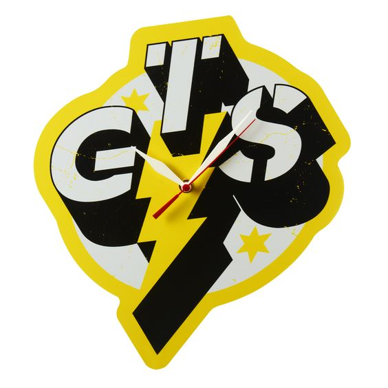 CM Punk GTS Custom Logo Clock $39.99