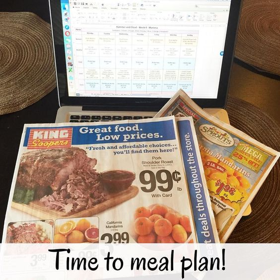 I have a super exciting Friday night planned... Getting next week's meal plan ready!   First step checking the ads for what is on sale. Gotta stick to that grocery budget!   What exciting plans do you have tonight?