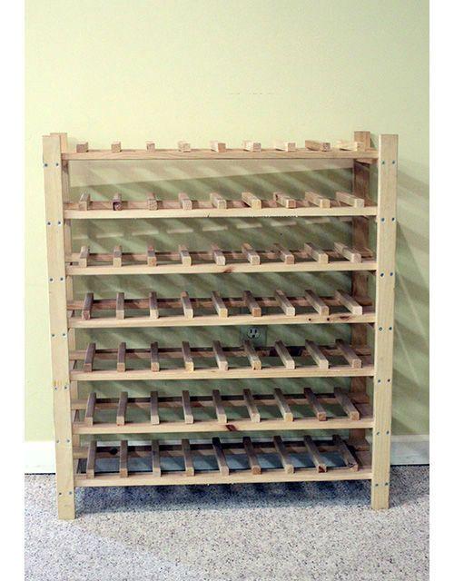 7 Shelf Wine Rack Wine Storage Diy Wine Rack Plans Wine Rack
