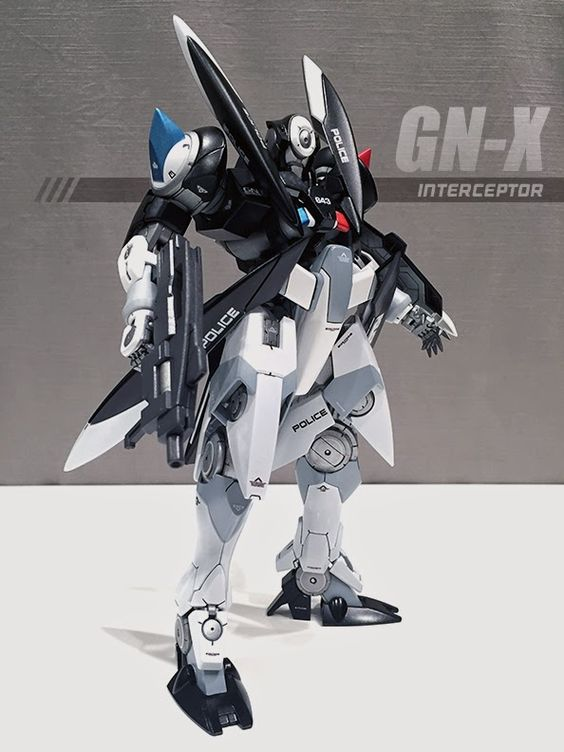"Custom Build: MG 1/100 GN-X ""Interceptor"" - Gundam Kits Collection News and Reviews #gundam"