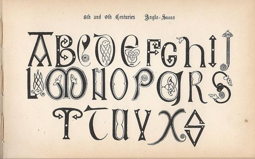 depressionpress:    The Signists Modern Book of Alphabets — F. Delamotte