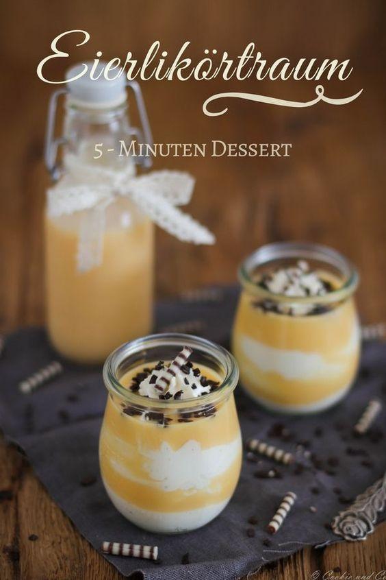 Eggnog Room: Creamy Lightning Dessert