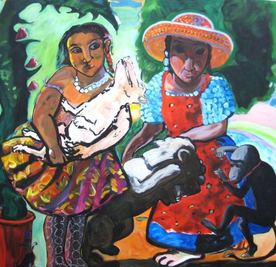ARTFINDER: Reproduction: Paula Rego's In the Gar... by Mairi Mayfield -: