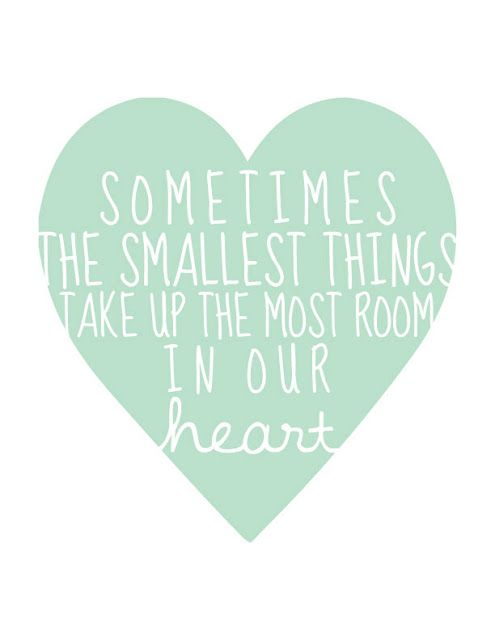 ... the smallest things ...  P.S. I Adore You: Prints for Brielle