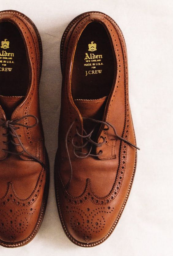 potentialitea:    youngmanandoldsoul:    Alden for J. Crew, these are beautiful.    Mr. craftinghigherstandards, this is your second pair in the future…