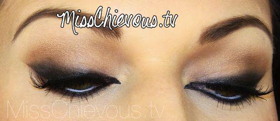 Cat Eyes Makeup Tutorial - MissChievous.tv