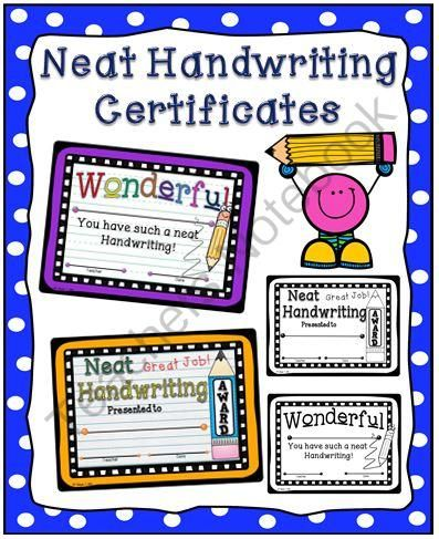 Certificates and Awards Primary Resources