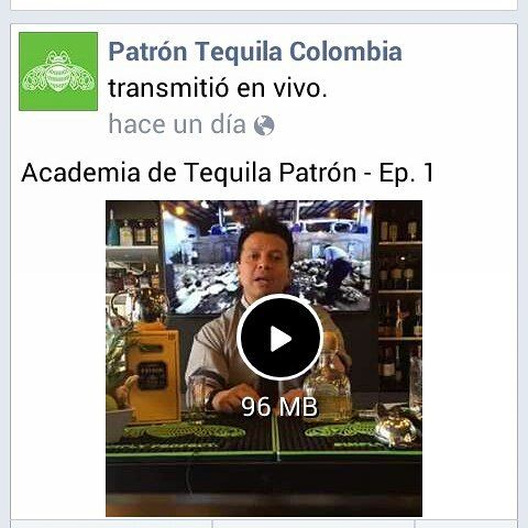 "You still can watch ""Academia de Tequila Patrón Ep. 1 on Facebook. You can enter to http://ift.tt/2cLiepm and learn about #tequila #patron and The Art of Patrón Colombia.  And you can visit us on www.artofpatron.co. Powered by #beautifywebdesign #html5 #javascript #css3 #php #jquery #ajax #tequilapatron #patrontequila #webdesign #webdesigner #webdeveloper #webdevelopment #webdev #web #design #website"