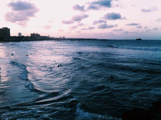 Praia de iracema.