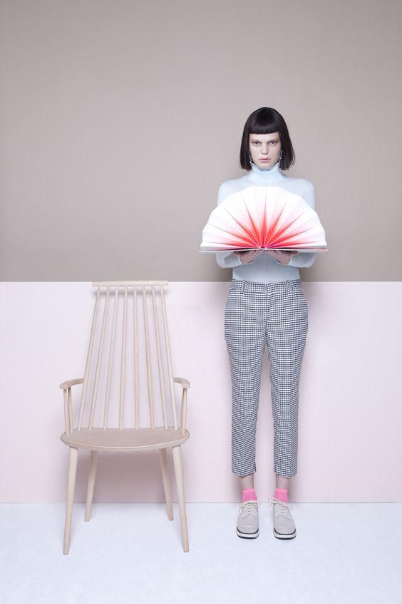 Merel Korteweg: Fashion Identity for Hay Design - Thisispaper Magazine