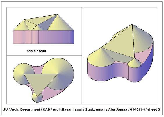 Amany Abu JamaȜaالرسم المعماري بالحاسوب/ computer architectural drawing: