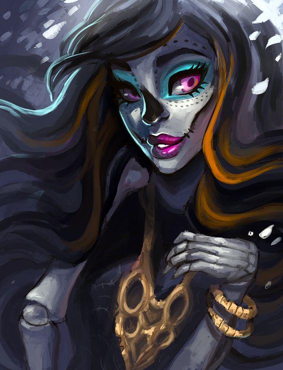 Skelita Calaveras by =asieybarbie on deviantART