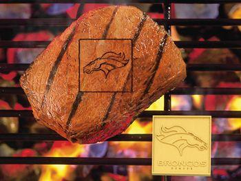 """NFL - Denver Broncos Fan Brands 2"""""""" X 2"""""""""""