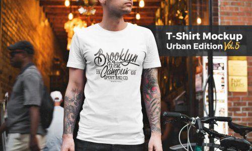 Download Download T Shirt Mockup Urban Edition Vol 5 G4ds In 2020 Shirt Mockup Tshirt Mockup Shirt Illustration