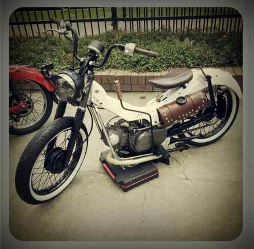 1996 Honda Ct110 Postie Bobber With Suicide Shift Mopeds