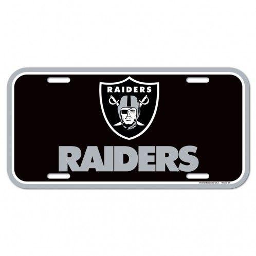 Oakland Raiders License Plate 3208584080 Nfl Football Oakland Raiders License Plates Frames Oakland Raiders Oakland Raiders Logo Raiders Team