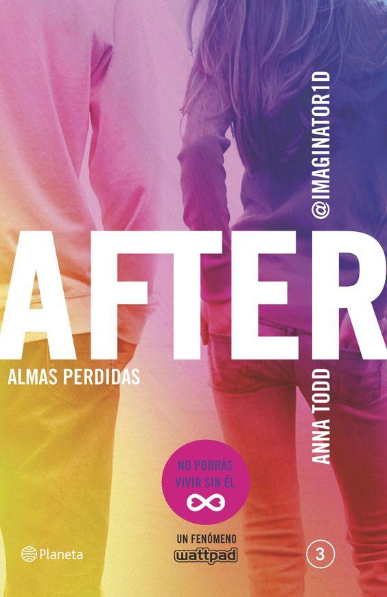 After: Almas perdidas (Serie After 3), de Anna Todd - Editorial Planeta - Signatura J TOD af - Código de barras: 3337303