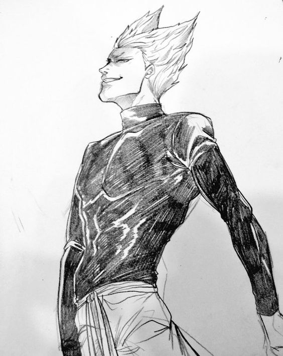 One Punch Man - Garou