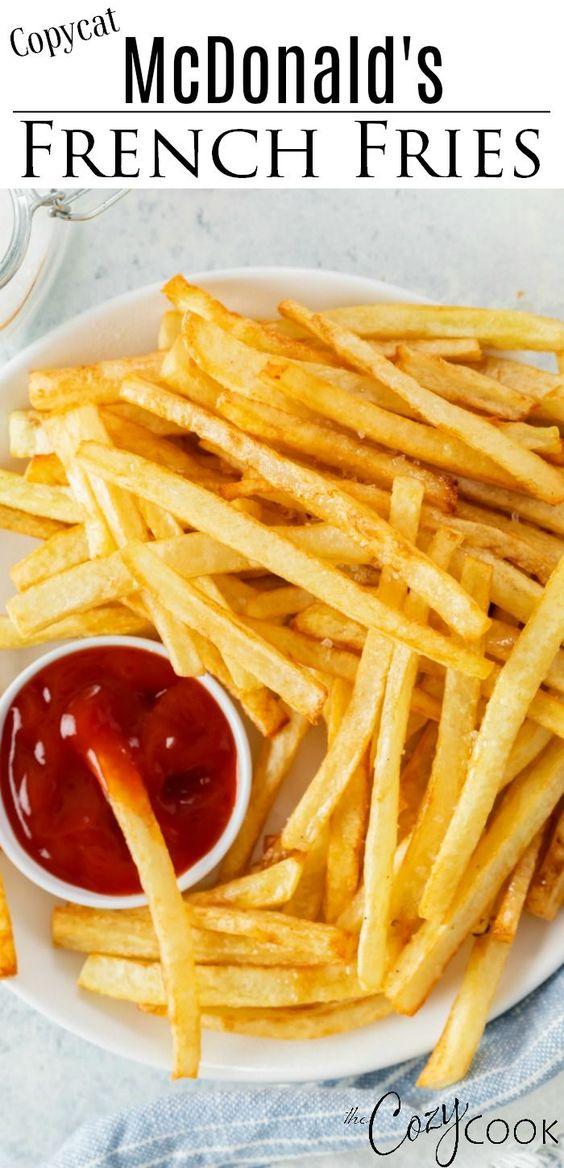 McDonald's French Fries - Copycat Recipe