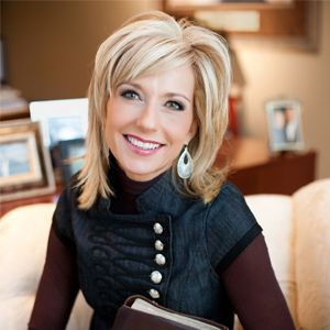 Beth Moore-some of the best Bible studies I've ever done were written by her