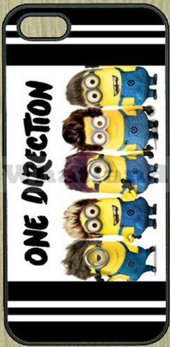 Amazon.com: One Direction Despicable Me Minion Case for Apple Iphone 4/4s: Cell Phones & Accessories