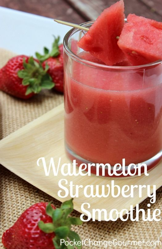 These sweet smoothies simply beat the heat!